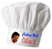 Colin Firth Impreso Novedad Gorro de cocinero gorro de cocinero