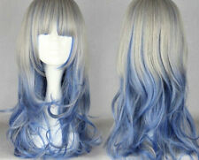 60cm Long Color Mixed Beautiful lolita wig Anime Wig   A98