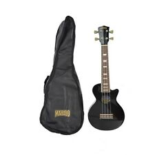 Mahalo Les Paul Acoustic Ukulele - Black