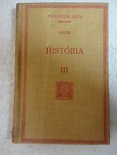 Escriptors Grecs,Historia III Polibi,F.Bernat Metge 1935