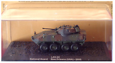 DIE CAST LAV-25 NATIONAL GUARD NEW ORLEANS USA 2005 SCALA  1/72 n. M
