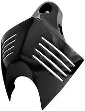 KURYAKYN GLOSS BLACK V-SHIELD HORN COVER FOR HARLEY DAVIDSON MODELS 7204 41-9330