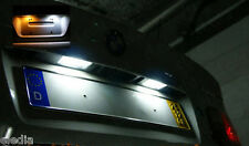 BMW E83 X3 2 Ampoules LED Blanc Plaque immatriculation  anti erreur ODB