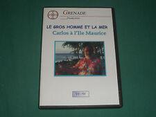 DVD - LE GROS HOMME ET LA MER - grenade production - CARLOS A L'ÎLE MAURICE BE