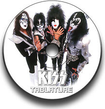 131 x KISS ROCK GUITAR TABS TABLATURE SONG BOOK ANTHOLOGY SOFTWARE CD