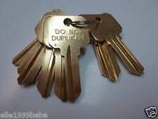 Key Blanks for Locksmith /10 SC1 DO NOT DUPLICATE Key/ Made in USA by Ilco