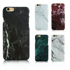 Glossy Hard Back Granite Marble Effect Case Cover For Apple iPhone 5 6 6s Plus
