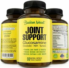 Glucosamine Chondroitin Turmeric MSM Boswellia - Joint Support - Bradeson