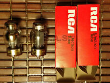 VACUUM TUBES - 6550 SYLVANIA/RCA W BOXES - MATCHED PAIR - TESTED!  GUARANTEED!