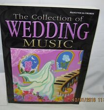The collection of wedding music - piano vocal chords - warner bros book