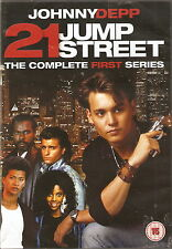 21 JUMP STREET - Complete 1st Series + Two-Part Premiere (4xDVD BOX SET 2012)