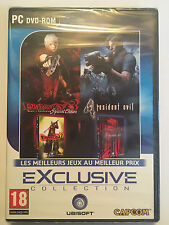 PACK 2 JEUX PC neuf _DEVIL MAY CRY 3 Special Edition + RESIDENT EVIL 4_