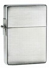 1935 Model Brushed Chrome Zippo Lighter - New In Box with Lifetime Warranty