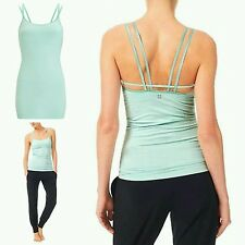 Sweaty Betty Pirouette Cami Top Workout Dance beautiful mint green size L