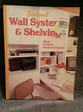 VINTAGE Sunset Wall Systems & Shelving Ideas, Projects 1971 & 1994