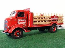 Danbury Mint 1938 Ford Stakebed Budweiser Delivery Truck 1:24 Scale Die Cast Red