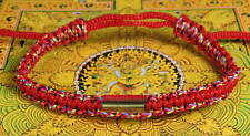 Buddha Sacred SAI SIN BRACELET blessed by Buddhist Monk. RED MULTI-COLOUR. LUCK