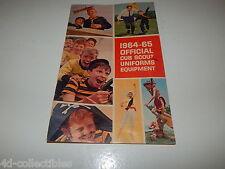 Vintage 1964-65 Official Cub Scout Uniforms Equipment Catalog