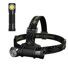 NiteCore HC30 Cree XM-L2 1000lms 18650 Dual Switch Headlight Headlamp Tasklight