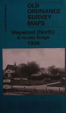 Carte de heywood (Nord) & hooley Pont 1908