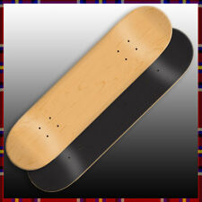 2 Naked Blank Skateboard Decks 8.0 With Pro Grip Tape