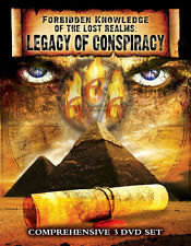 Forbidden Knowledge of The Lost Realms:  Conspiracies REVEALED-  3 DVD Set!
