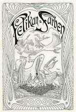 FIDUS - PELIKAN-FARBEN - Werbegraphik von FIDUS - Strichätzung 1904