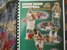 2006 GEORGE MASON PATRIOTS BASKETBALL MEDIA GUIDE FINAL 4 #11 SEED MASON!!! AD