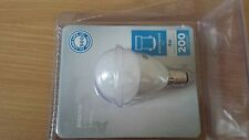ASDA 4W B15d/ LED Round Light Bulb Warm White Frosted Long Life 25000 hours