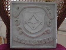 Estuco - Yesero -Wappen- 101-266B Medallón de Hormigón para Exterior