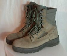 WELLCO AIR FORCE TW Military Combat Boots Gore-Tex Vibram Soles Sage Size 9WF