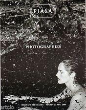 Catalogue de vente aux enchères PIASA 2006 - PHOTOGRAPHIES