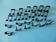 Musical Notes Brads for Scrapbooking Papercrafting