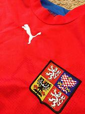 Rare Czech Republic World Cup Puma Jersey 2007 / 2009 Soccer Football Club Team