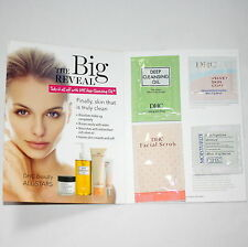 DHC Deep Cleansing Oil & Skincare Sample Card /Primer- Facial Scrub- Moisturizer