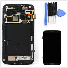 For Samsung Galaxy Mega 6.3 i9200 i9205 LCD Touch Screen Digitizer & Frame Black