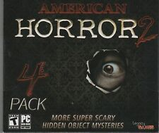 NIGHTMARE ON THE PACIFIC Hidden Object AMERICAN HORROR 4 PACK PC Game NEW