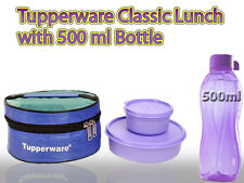 TUPPERWARE CLASSIC LUNCH BOX WITH 500 ML WATER BOTTLE