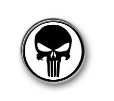 "THE PUNISHER / 1"" / 25mm pin button / badge / Marvel / Spiderman / Stan Lee"