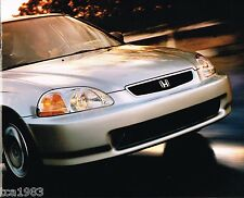 1996 HONDA Sales Brochure: DEL SOL,CIVIC,ACCORD,PRELUDE,PASSPORT,Wagon,ODYSSEY
