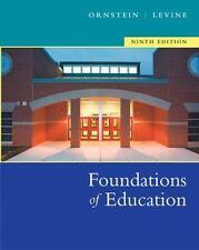 Foundations of Education by Allan C. Ornstein and Daniel U. Levine (2004, Hardc…