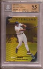 1999 Finest Sterling Frank Thomas Gold Refractor /100 BGS 9.5 POP 1 1/1 non auto