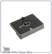 """Manfrotto 200PL 14 / 38 Quick Release Plate 1/4"""" & 3/8"""" male thread"""
