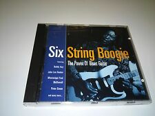 SIX STRING BOOGIE THE POWER OF BLUES GUITAR CD