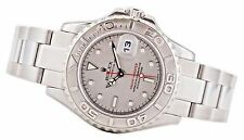 Ladies Rolex Yachtmaster Platinum/SS 169622 Z Serial 29mm Automatic