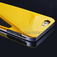 iPhone 6 Case Heavy Duty Shock Proof 3 Layers Sports Car Armour Case Yellow