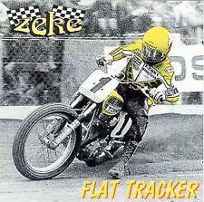 Flat Tracker; Zeke 1996 CD, ADVANCE. Garage Punk, Seattle, PROMO Scooch Pooch Ve