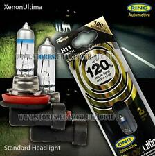 Ring Xenon Gas Ultima H11 12v Car 120% Brighter Upgrade Headlight Headlamp Bulbs