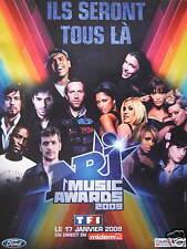 PUBLICITÉ ILS SERONT TOUS LÀ NRJ MUSIC AWARDS 2009 EN DIRECT DU MIDEM