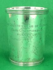 """Newport Sterling The Country Club of Florida 1967 Julep Cup"""